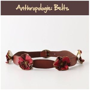 """Anthro """"Ruffles Blossom Belt"""" by Lucky Penny"""